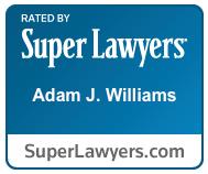 Super Lawyers Badge - Attorney Adam Williams