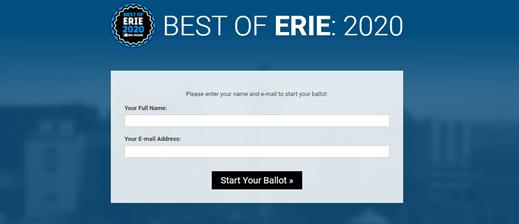 Best of Erie Ballot