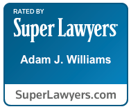 Super Lawyers Badge - Attorney Adam Williams